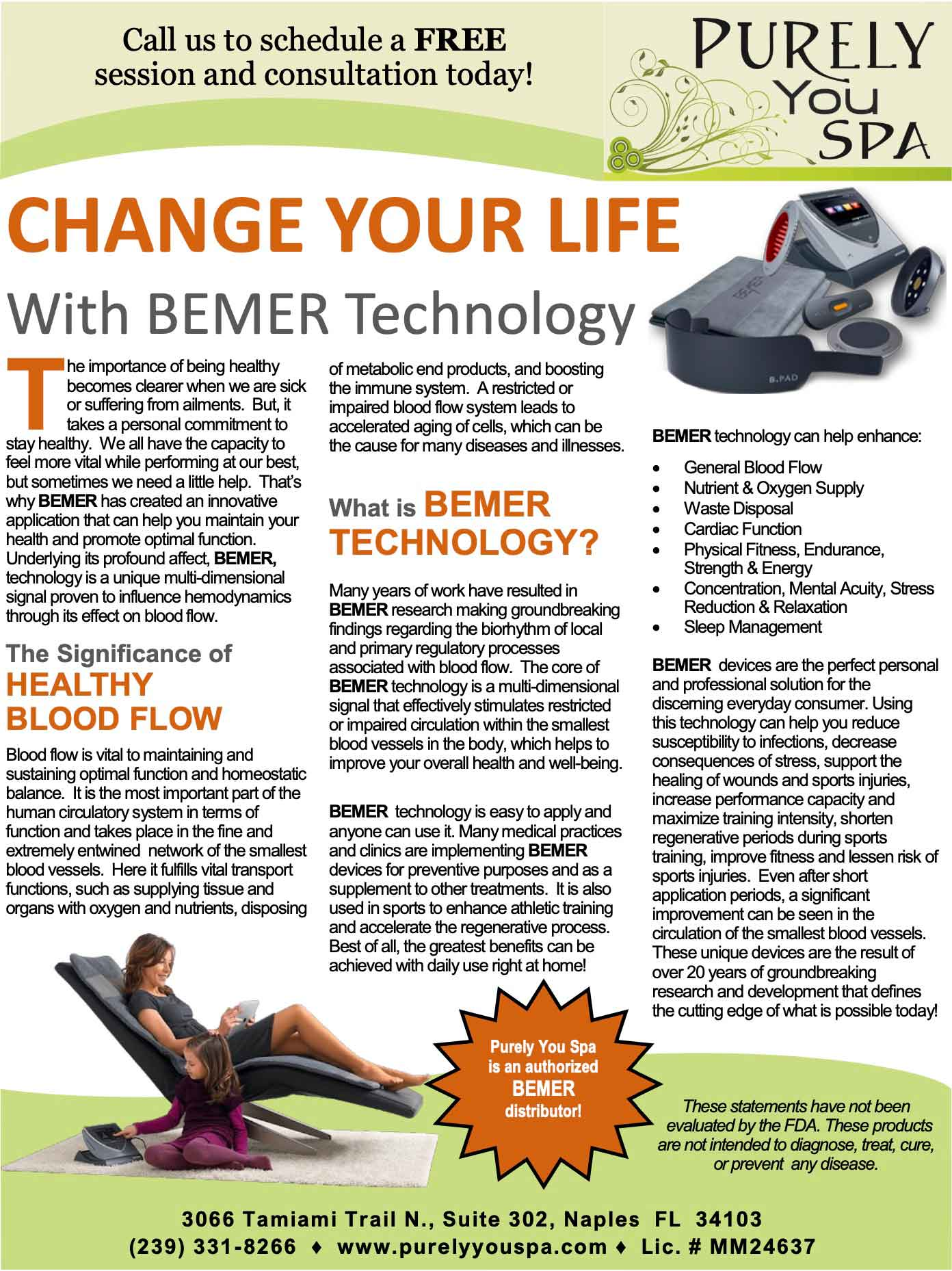 Change Your Life with Bemer Technology | Purely You Spa
