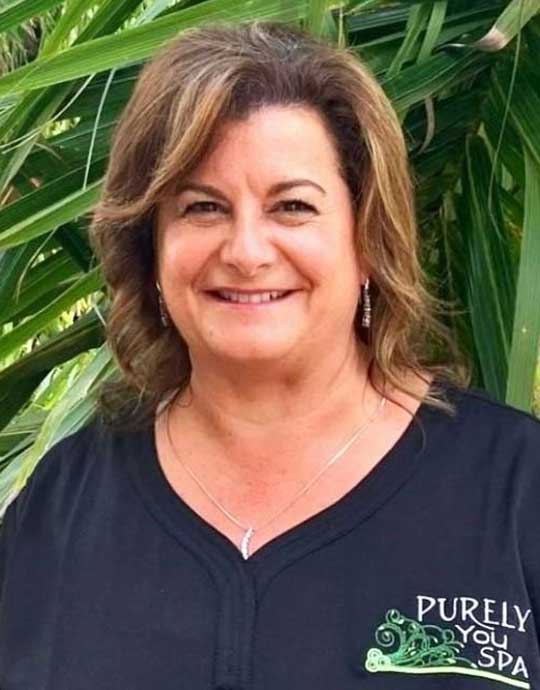 Debbie, Spa Operations Manager at Purely You Spa in Naples, Florida | Certified Organic Day Spa