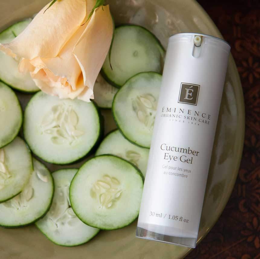 Eminence Cucumber Eye Gel product available at Purely You Spa   Naples Florida Certified Organic Day Spa