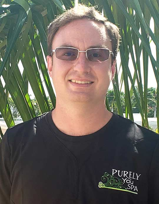 Jack, Licensed Massage Therapist at Purely You Spa in Naples, Florida | Certified Organic Day Spa