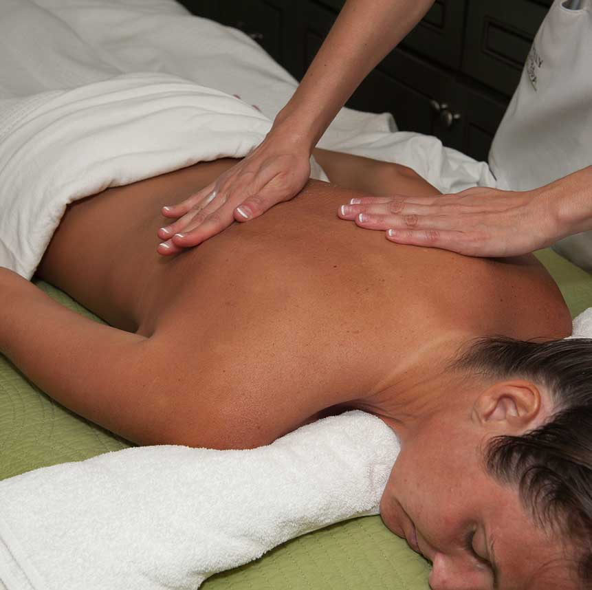 Massage spa service at Purely You Spa   Naples Florida Certified Organic Day Spa