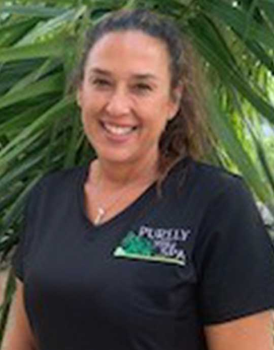 Melissa, Dually Licensed Massage Therapist and Skin Esthetician at Purely You Spa in Naples, Florida | Certified Organic Day Spa