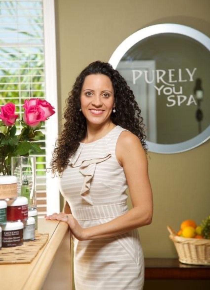 Spa Founder, Jennifer Alavarez Linguidi | Purely You Spa Naples, Florida