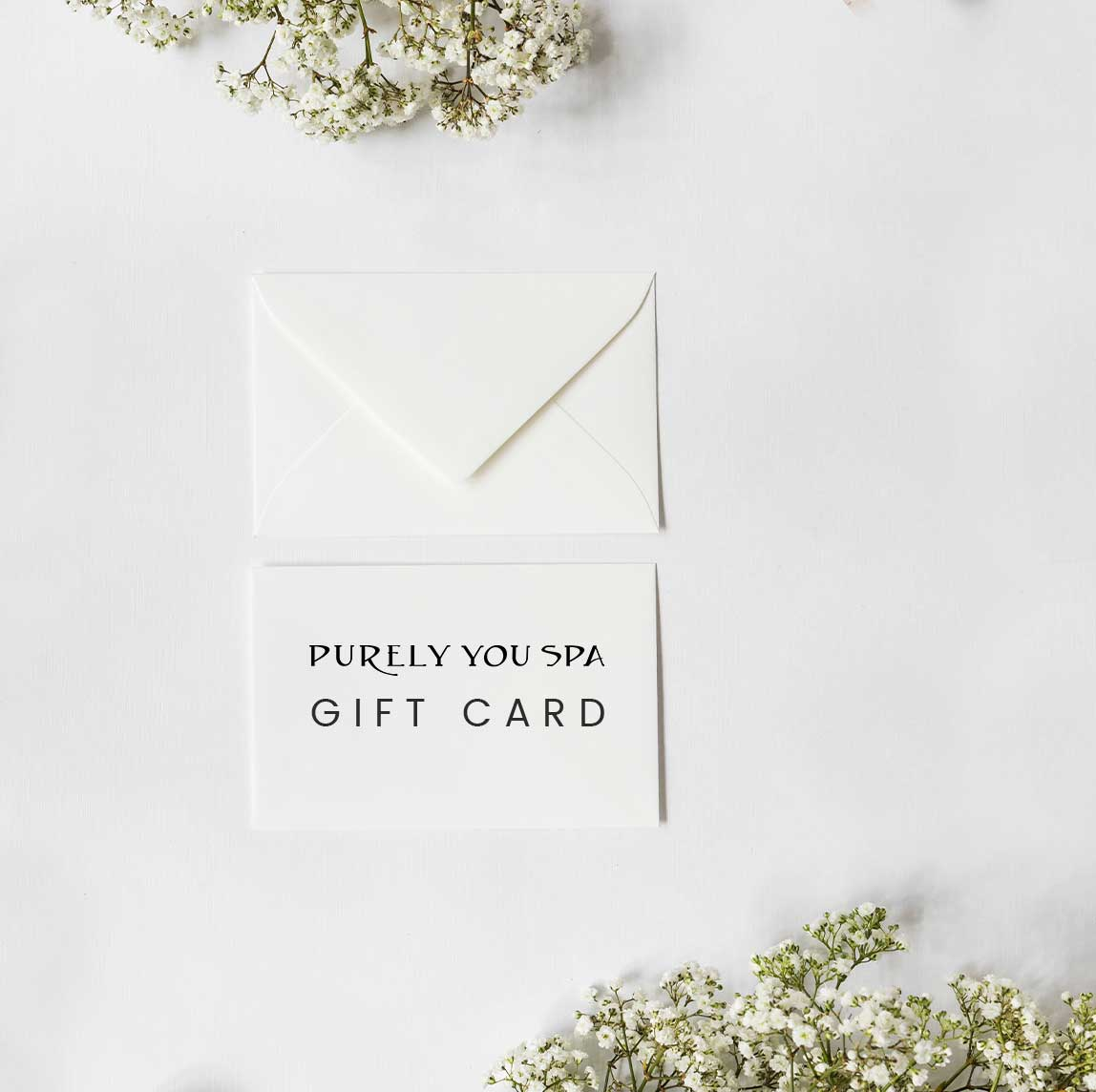 Purely You Spa gift cards available for purchase   Certified Organic Day Spa Naples, Florida
