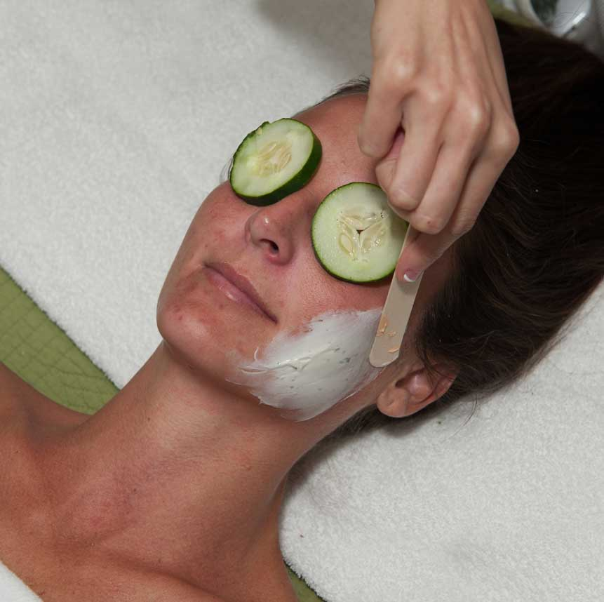 Spa facial treatment at Purely You Spa   Naples Florida Certified Organic Day Spa
